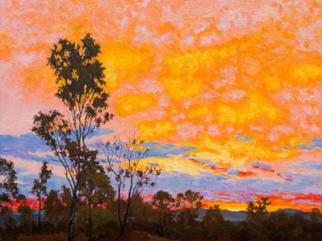 Sunset South of Charters Tower