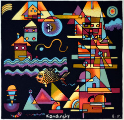 'Kandinsky, Out Yachting With Tiggy'