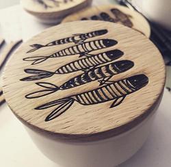 Engraved Keepsake Pots