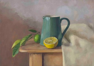Lemons and Jug