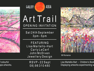 Art Trail Opening Invitation