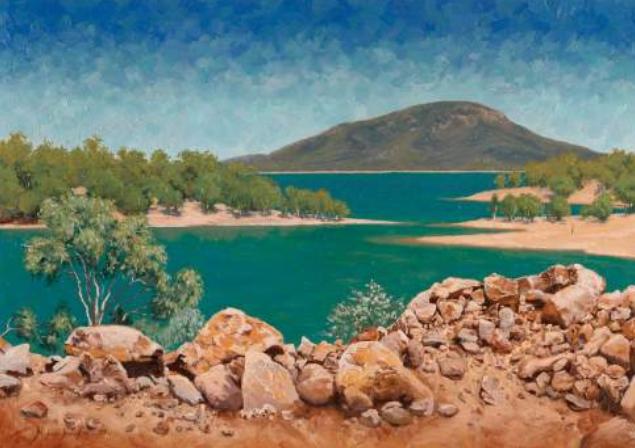 Lake Dalrymple Above Burdekin Falls Dam