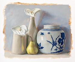 Arum Lillys Pear & Ginger Jar