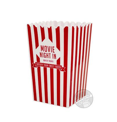 Popcornbøtte i plast Rød 2-pk.