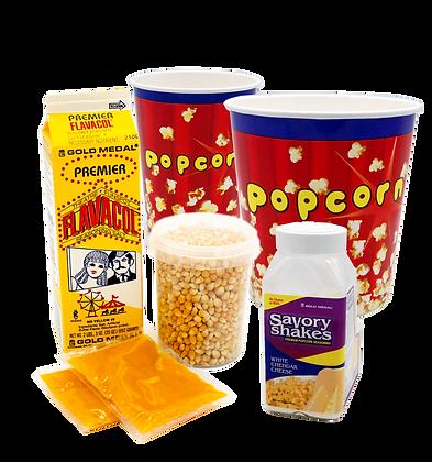 Popcornpakke Cowboy