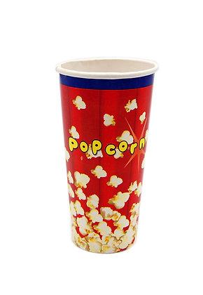 Popcornbeger 0,7 liter - 50 stk.