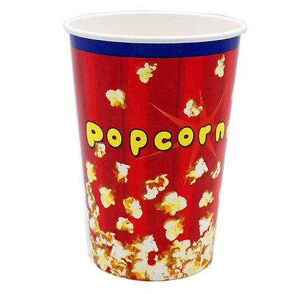 Popcornbeger 1,4 liter - 50 stk.