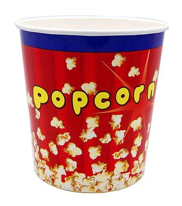 Popcornbeger 4 liter - 50 stk.