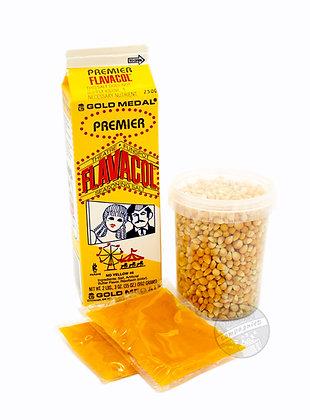 Popcornpakke Forsiktig