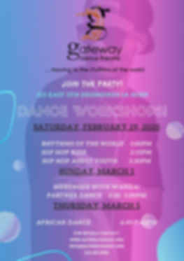 Workshop flyer Blue and Pink Disco rev1