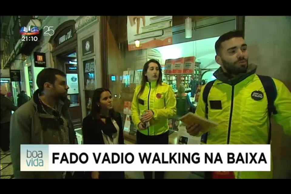 Portuguese TV SIC (Fado Vadio)
