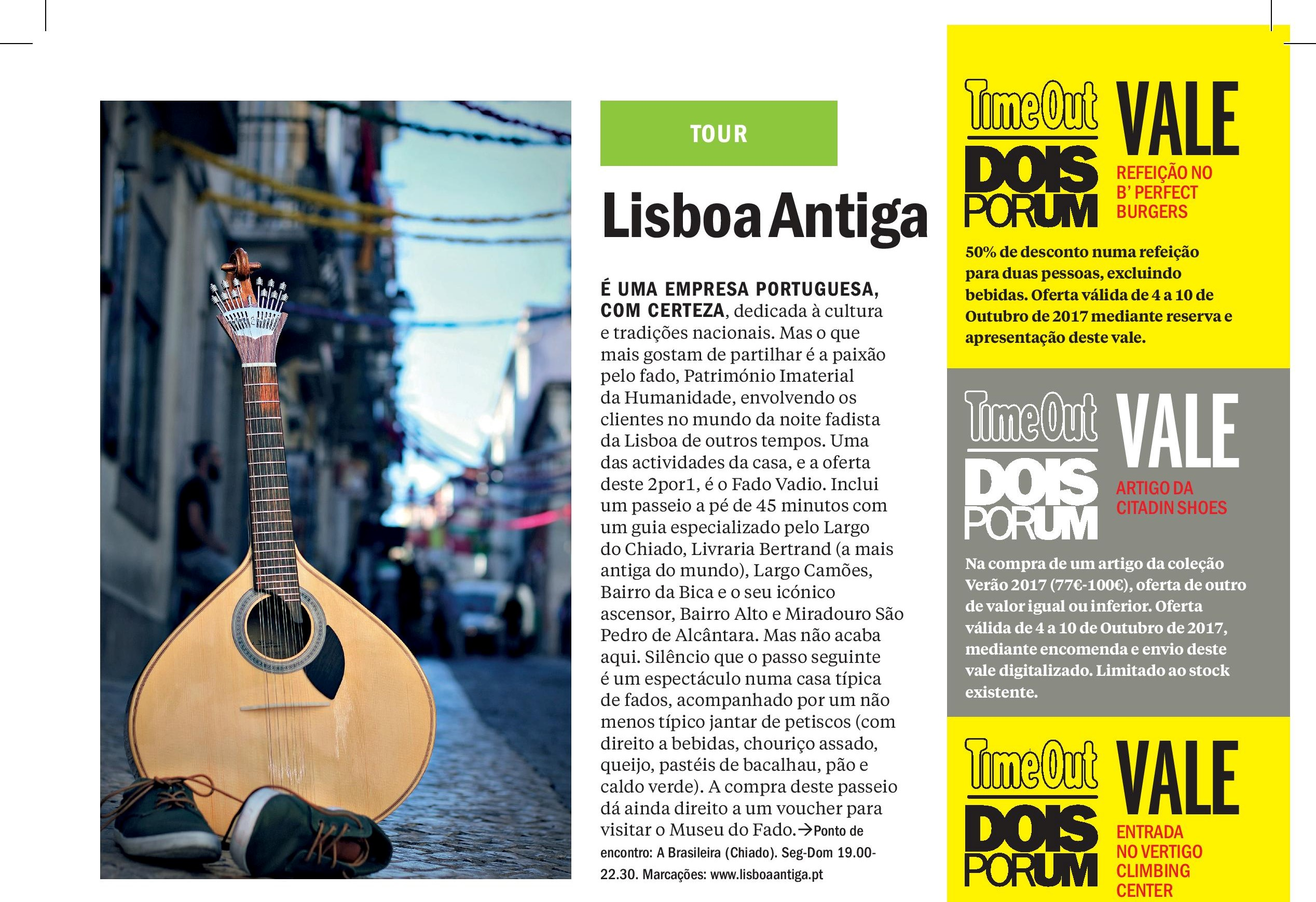 Actualités Time Out Lisboa