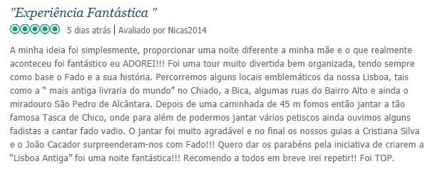 Review Fado Vadio