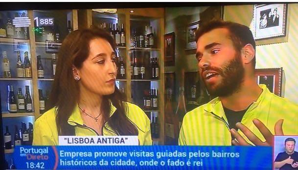 Portuguese TV RTP (Fado Vadio)