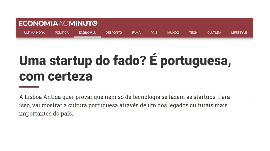 Notícia Economia ao Minuto