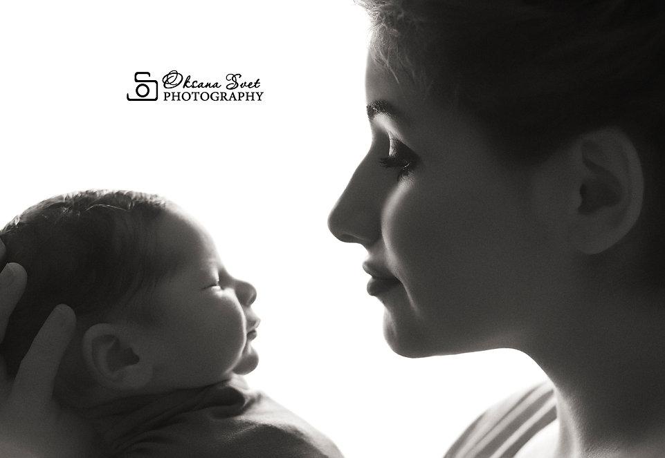 Фотосессия новорожденного в Твери