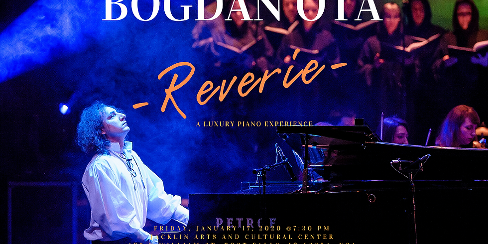 REVERIE - Concert at Jacklin Arts & Cultural Center