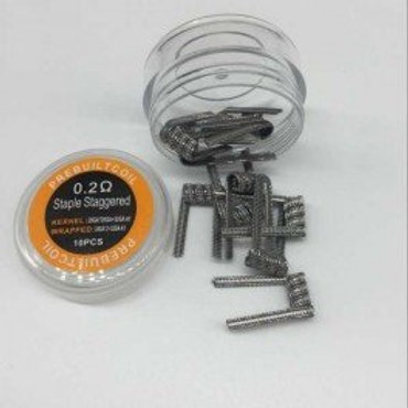 Eycotech - Resistencias prefabricada Staple Staggered KA1 0.2ohm