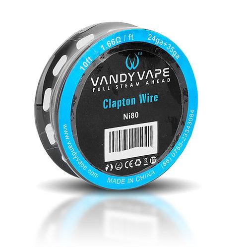 Vandy Vape - Wire Clapton NI80 24+35