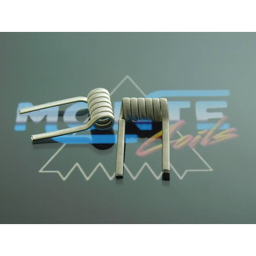 MONTE STAPLE MECH 0.22/0.11 ohms SS316+KA1+N80 (pack x2)