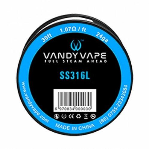 Vandy Vape - Wire SS316L 24GA