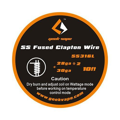 Geek Vape - Wire SS Fused Clapton 28x2+30