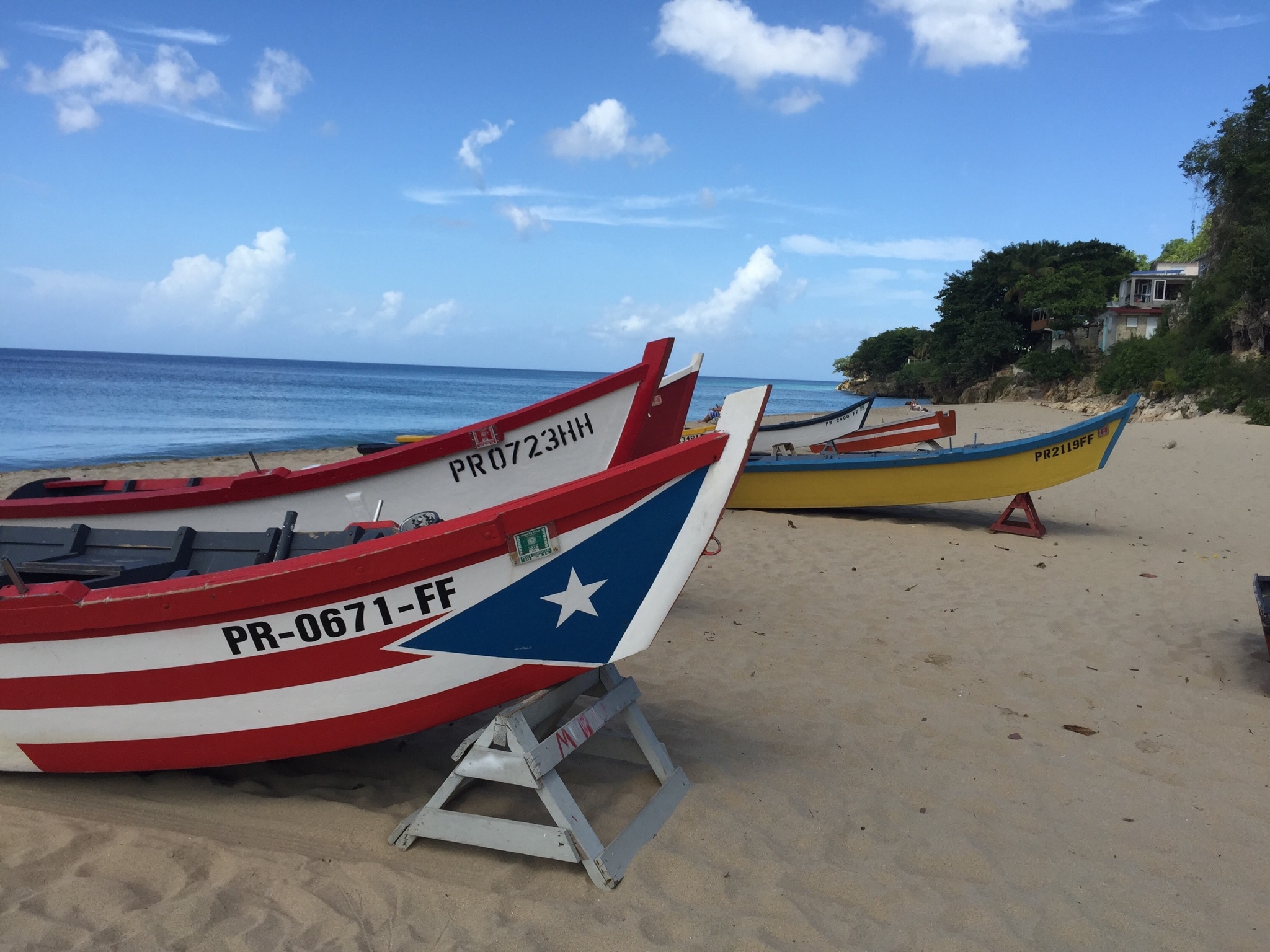 Pacia Puerto Rico Wooden Boat Fishing