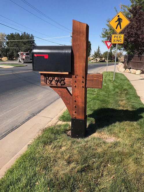 Timber Mailboxes