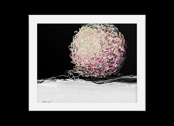 """""""Velvet"""" 00.2 Framed Poster"""
