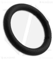 """Black Metal O-Ring 1 1/4"""" (Flat Black)"""