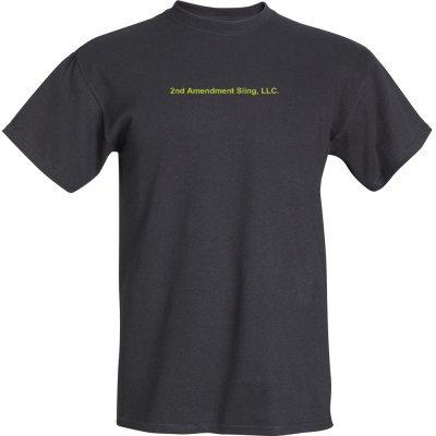 2nd Amendment Sling, LLC. Tee Shirt (Black)