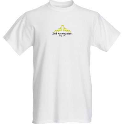2nd Amendment Sling, LLC. Tee Shirt (Men's White)