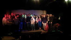 The Wisdom Tree audience assembled on stage.jpg