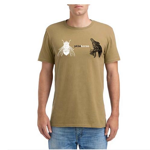 p4lehorse DE4RB0T T-Shirt
