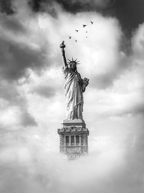 Statue de la Liberté 16 x 20 signée numérotée / 100 exemplaires