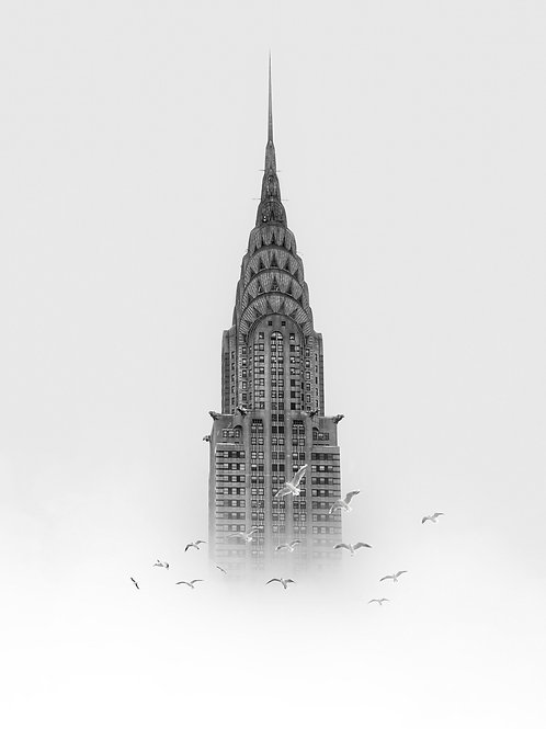 Chrysler Building 16 x 20 signée numérotée / 100 exemplaires
