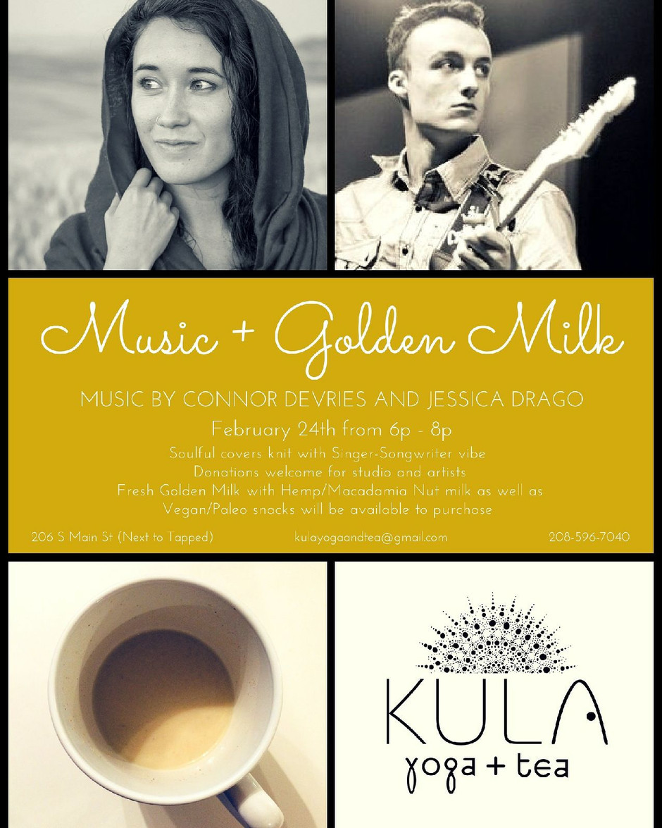 Music + Golden Milk