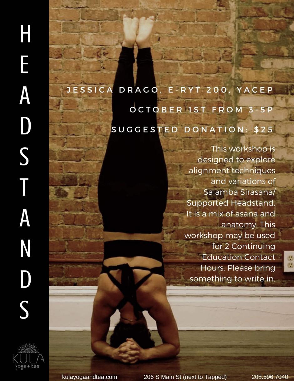 Headstands!
