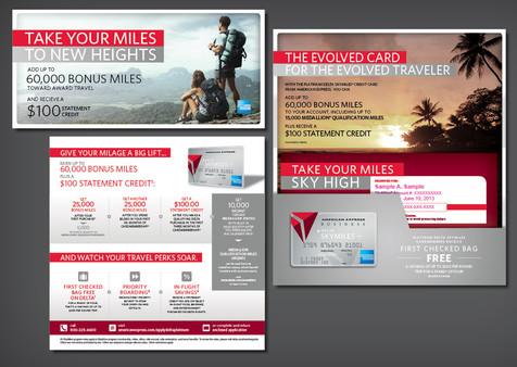 Amex Delta Platinum Mail Package