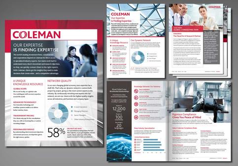 Coleman Marketing Brochure