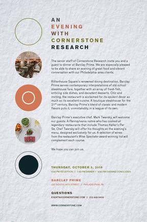 Cornerstone Invite