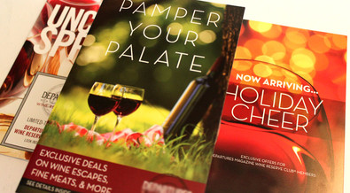 Wine Club Mailings