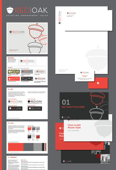 Red Oak Branding Package