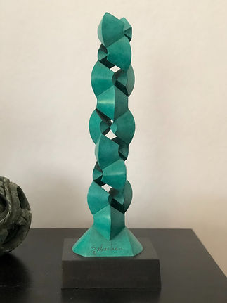 DNA sculpture