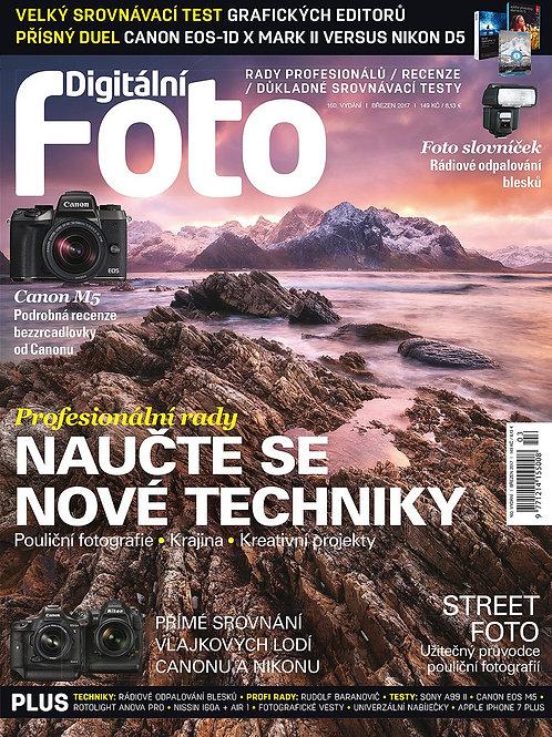 DIGITÁLNÍ FOTO 160 BŘEZEN 2017