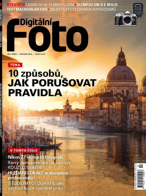 DIGITÁLNÍ FOTO 188 ČERVENEC 2019