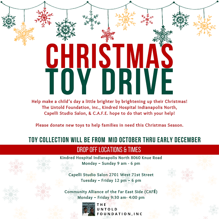 The Untold Toy Drive