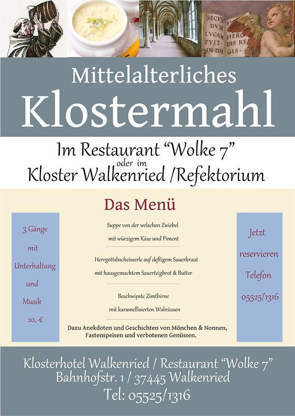 Mittelalterliches KLostermahl neutral  2