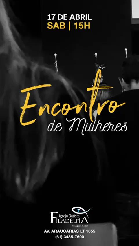 CULTO DE MULHERES-15H