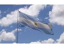 Argentinean flag